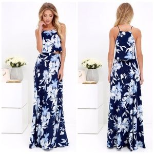 NEW Lulus Love for Lanai  2 Piece Maxi dress BSK